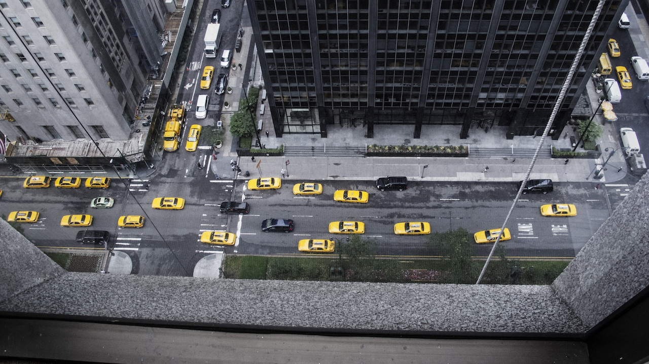 <p><span>Taxis jaunes Midtown, New York</span>, 2012<br>Format: 40 x 53 cm</p>