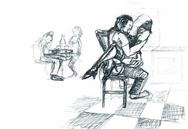 RDuris - L'amour au bar