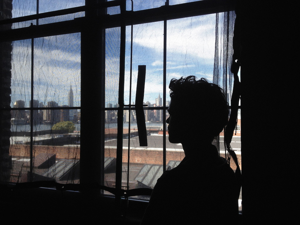 <p><span>Romain Duris, Brooklyn</span>, 2012<br>Format: 40 x 53 cm</p>