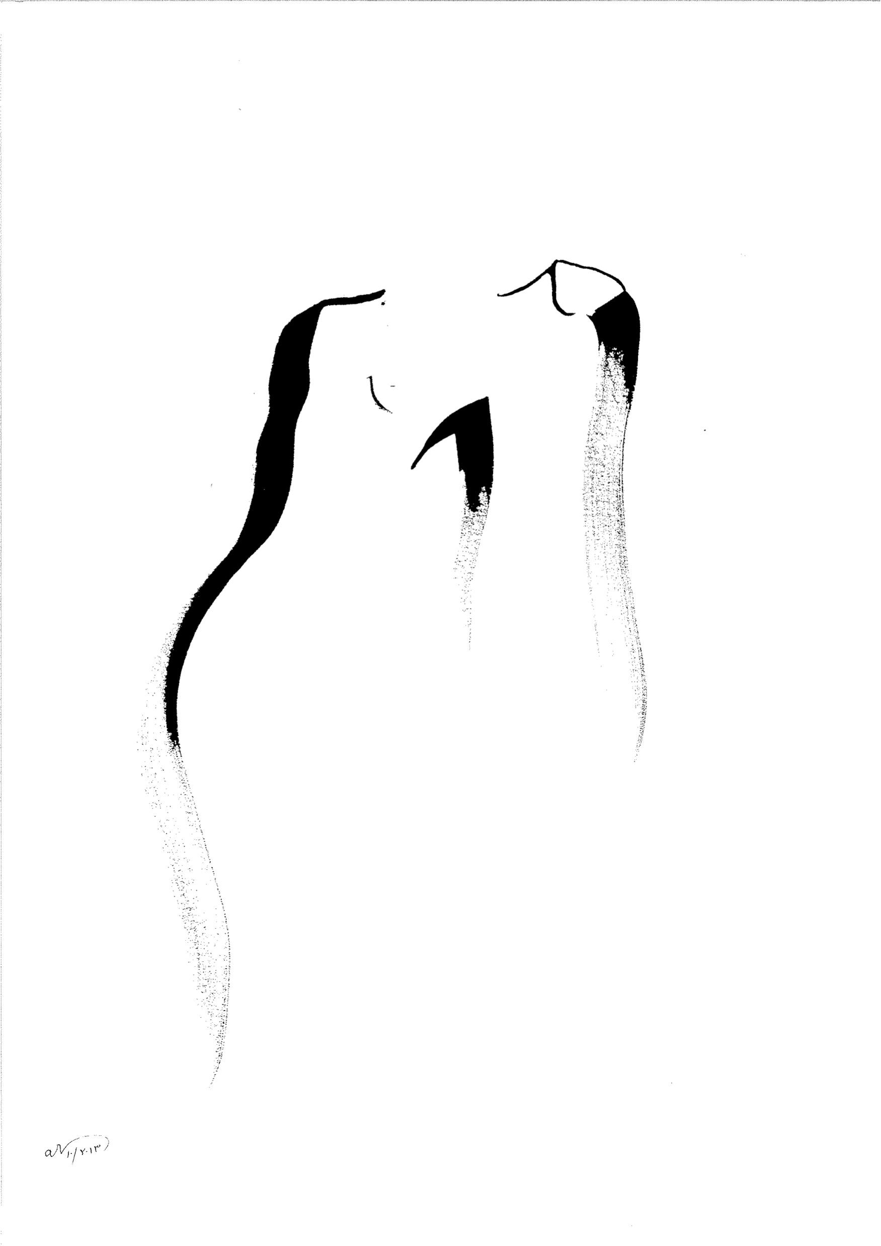 <p><span>Prophète affranchi</span>, 2013<br>Format: 58 x 47 cm</p>