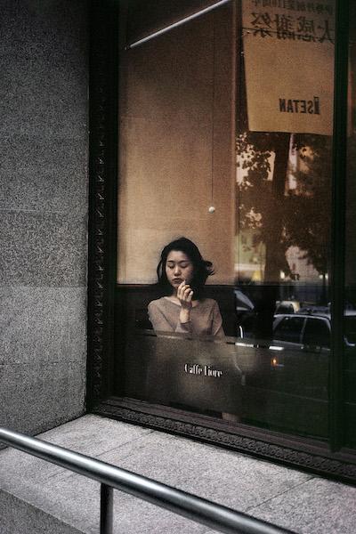 <p><span>Japan. Tokyo. Coffee shop in Shinjuku district</span>, 1996<br>Format: 33 x 50 cm</p>