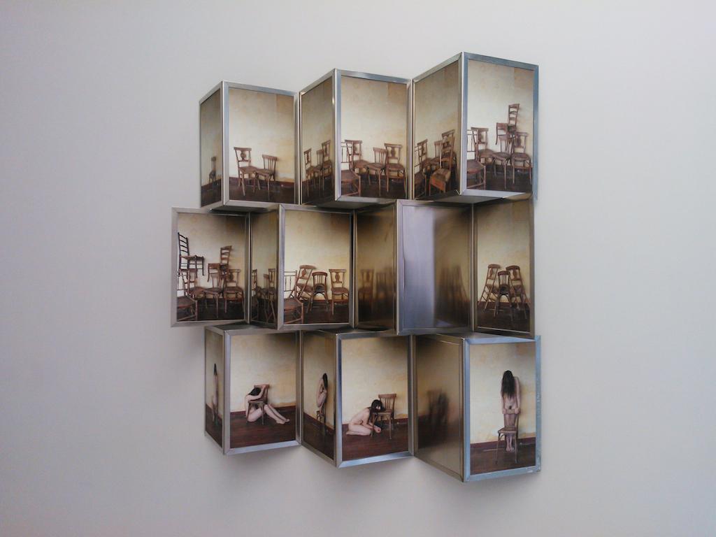 <p><span>Autoportrait</span>, 2013<br>Structure en Inox</p>