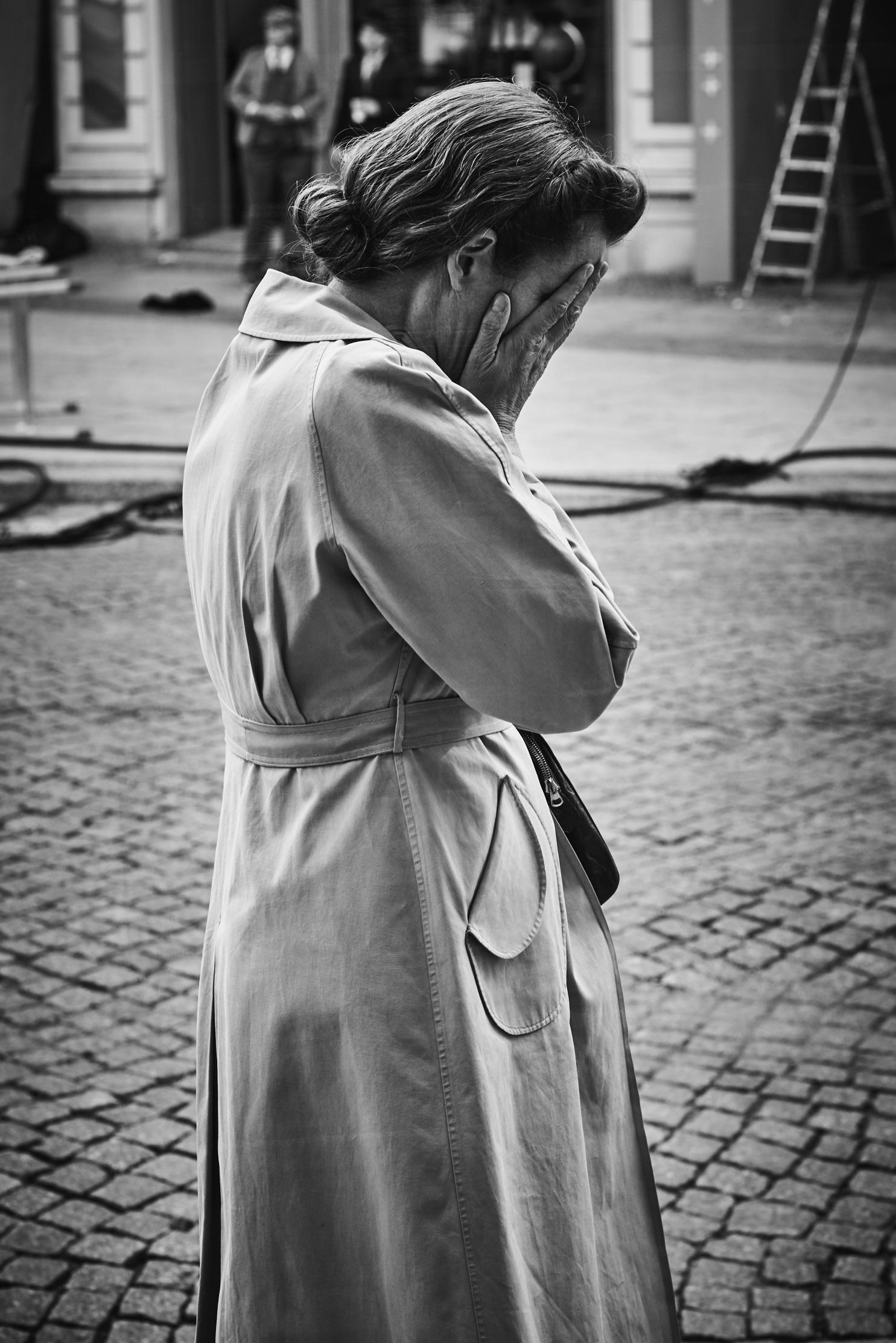 <p><span>Emma Thompson sur le tournage de