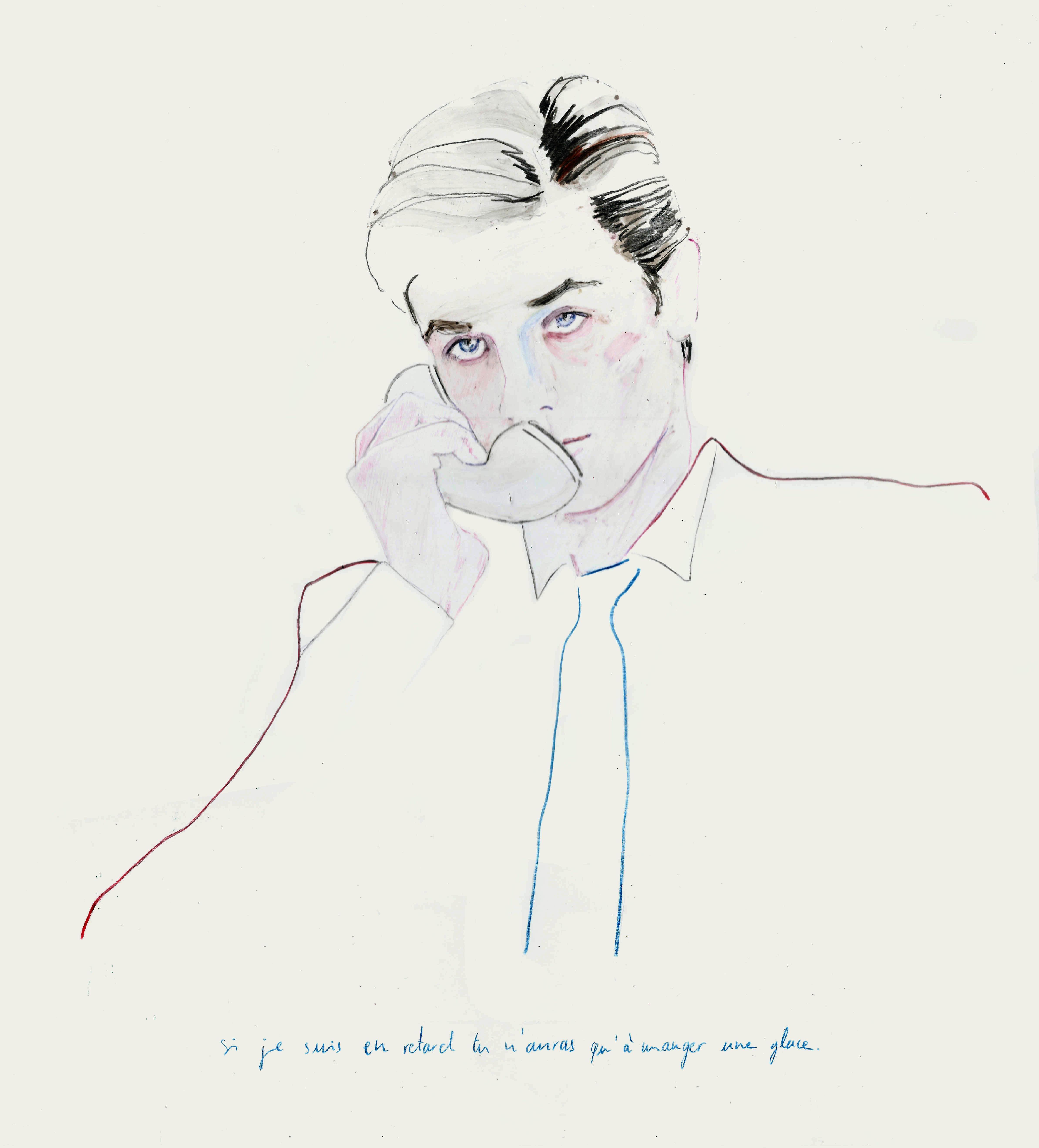 <p><span>Alain Delon dans